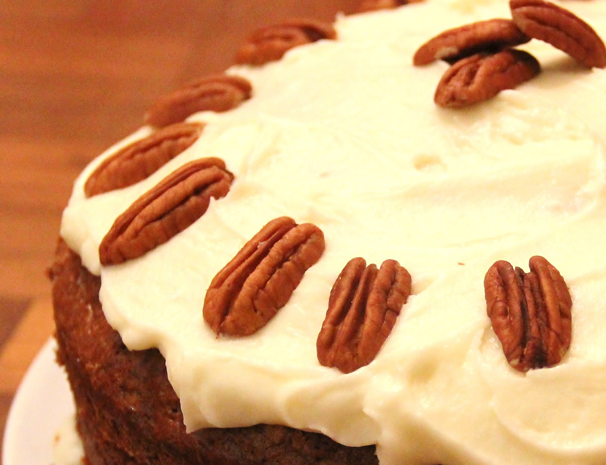 Carrot Cake Pecans Or Walnuts