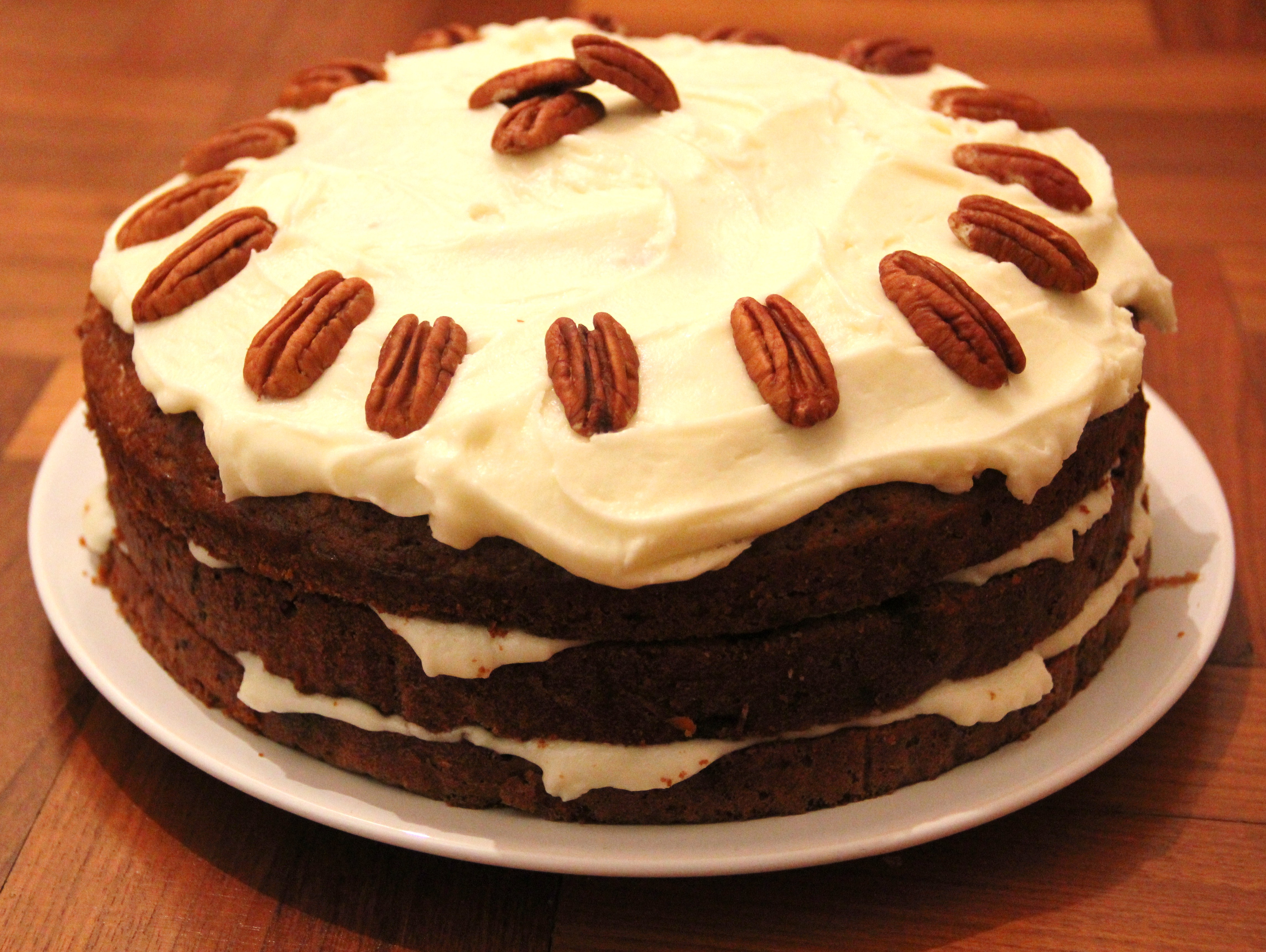 Carrot cake recipe for 23cm tin