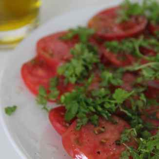 Heirloom Tomato and Chervil