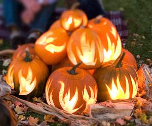 BHG Pumpkin flames