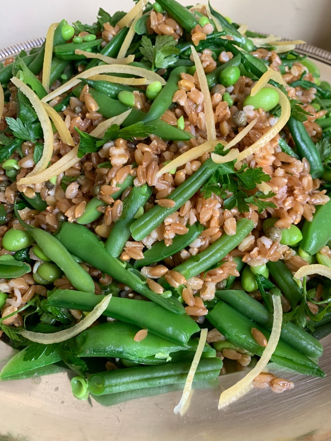 Farro and Spring Greens
