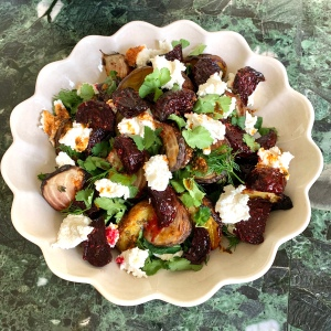 North African Roasted Beets